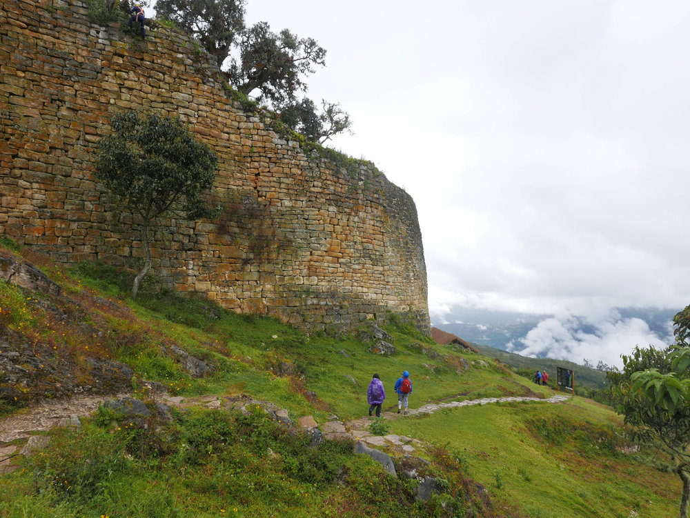 Compared to Machu Picchu, only a trickle of visitors venture to the pre-inca Fortress of Kuelap.