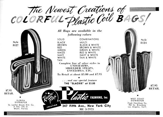 My Vintage Vanity Telephone Plastic Coil Bags via Bobbins And Bombshells