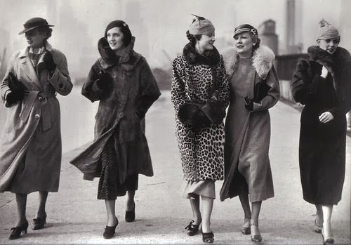 Fashionable History Winter Fashion By Decade 1930's