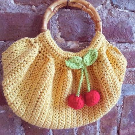 Yellow Fat Bottom Bag Bobbins and Bombshells