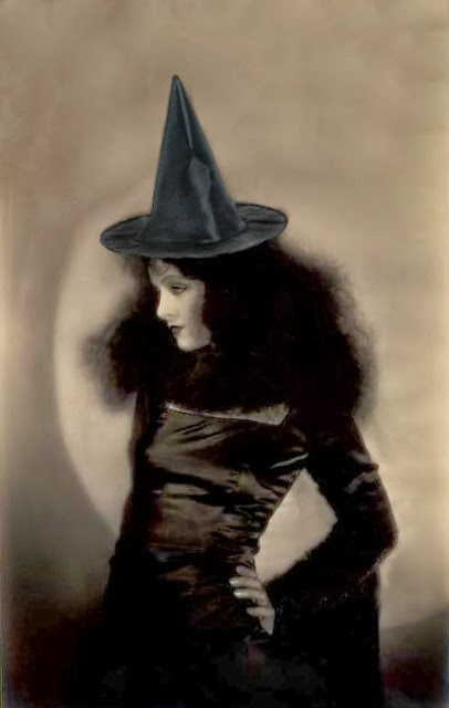 Mid-Week Inspiration Halloween Bombshell Myrna Loy