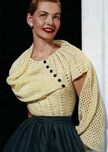 Mid-Week Inspiration Vintage Sweaters Bobbins And Bombshells
