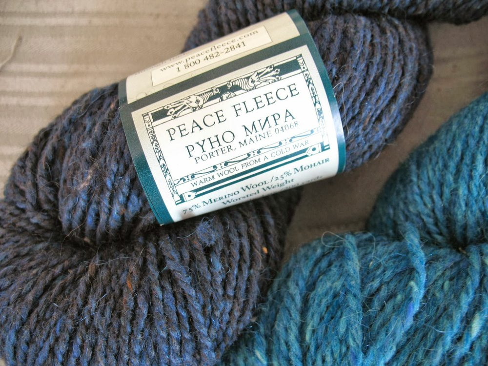Yarns From Maine Bobbins and Bombshells
