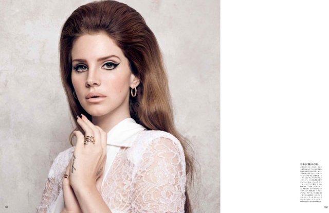 Lana del Rey Bobbins and Bombshells