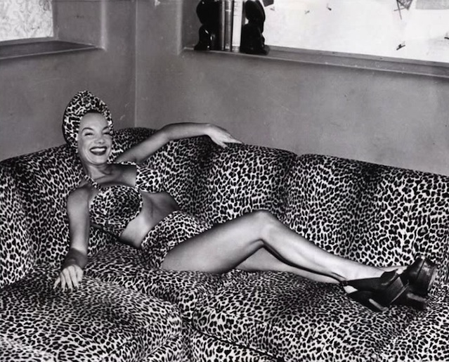leopard lounge carmen miranda bobbins and bombshells