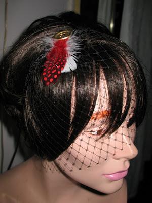 Veiled Head Band