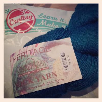 mystery knit along yarn bobbins and bombshells