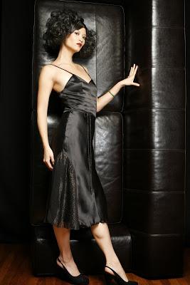 Side Godet Dress