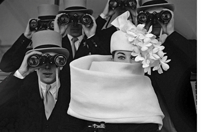 Givenchy hat photographed by Frank Horvat. 1958