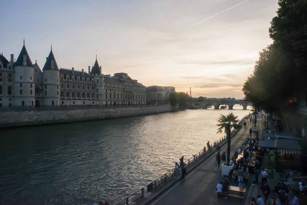 Pont Neuf et Paris Plages