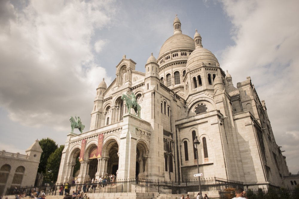 Sacre Coeur with the ever cute Montmartre neighborhood to follow.