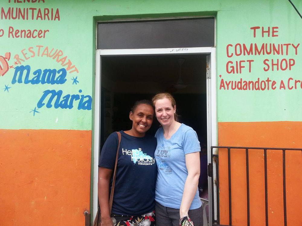 """Together we can accomplish anything!"" Sandra said.                                            I will never forget my time in    Nuevo Renace  r   , DR."