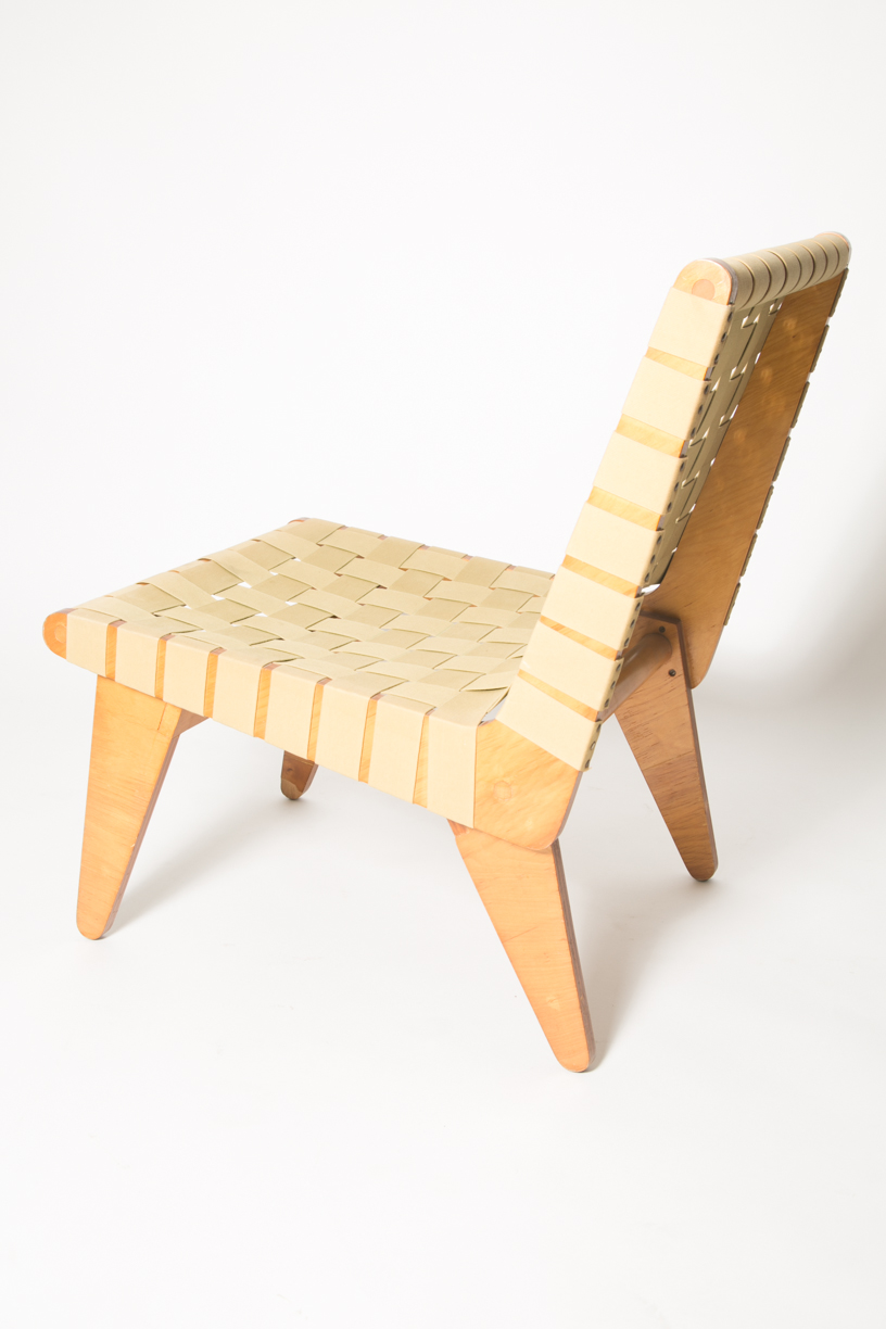 Klause Grabe Architect built strap lounge chair 9.jpg