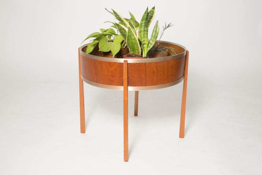 Teak and alu plant stand 2.jpg