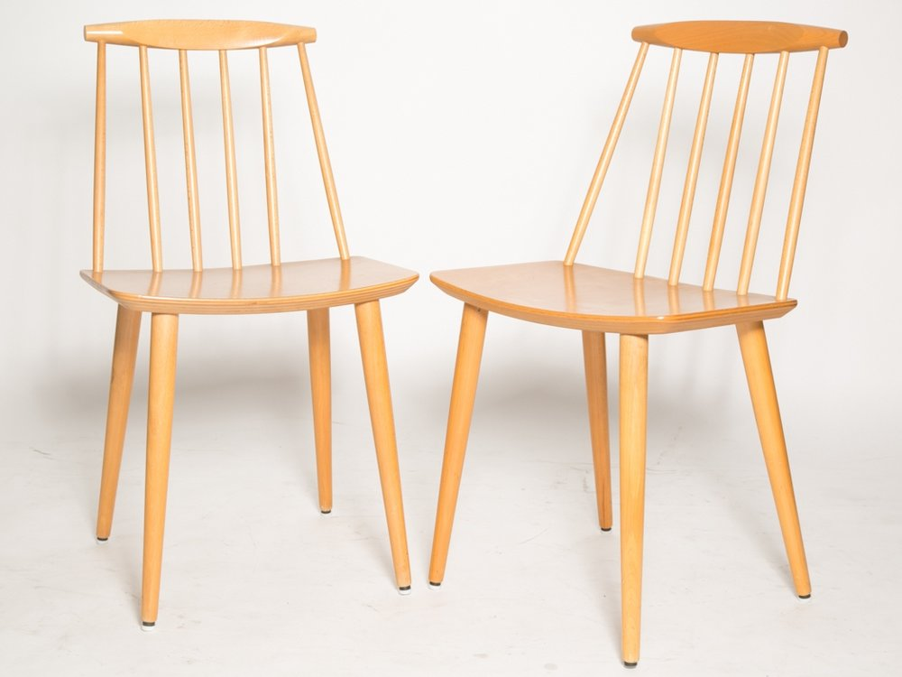 Folke Palsson J77 dining chairs