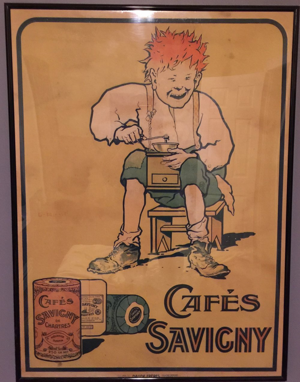 Georges Ripart - cafés Savigny ad by Daude Frères 1.JPG