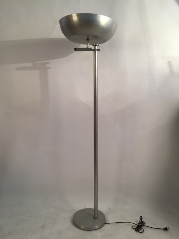 Kurt Versen 'Flip Flop' floor lamp brass and aluminum 1.jpg