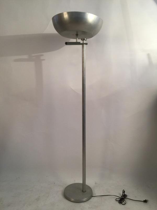 Kurt Versen 'Flip Flop' floor lamp brass and aluminum 1.jpg