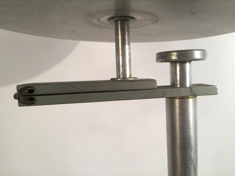 Kurt Versen 'Flip Flop' floor lamp brass and aluminum 10.jpg