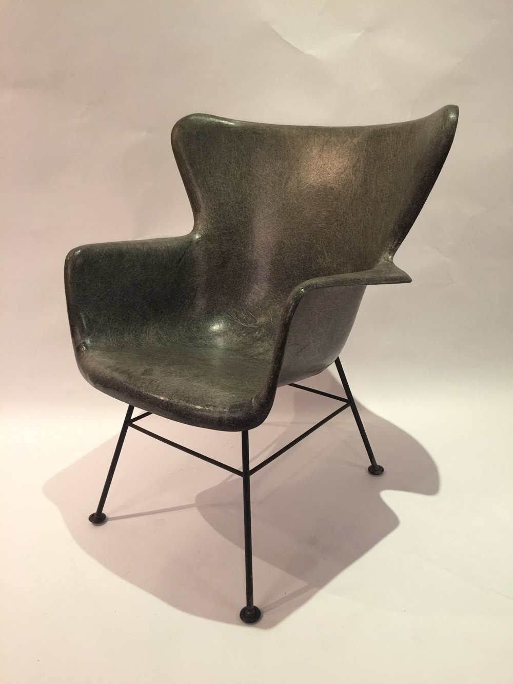 L. Peabody for Selig Fiberglass chair