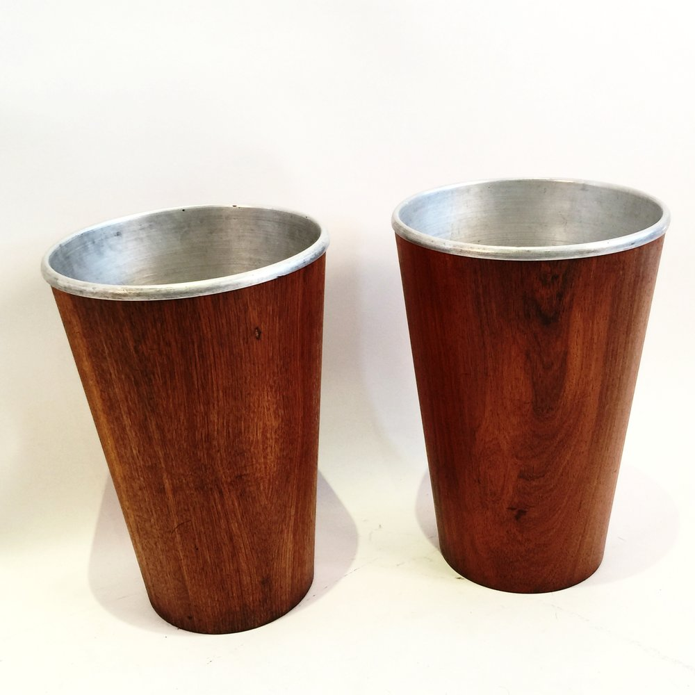 Teak Wastebaskets with metal inserts by Martin Aberg for Servex.JPG