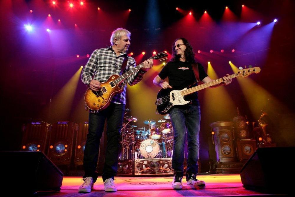 Alex Lifeson, guitar; Geddy Lee, bass; Neil Pert, drums