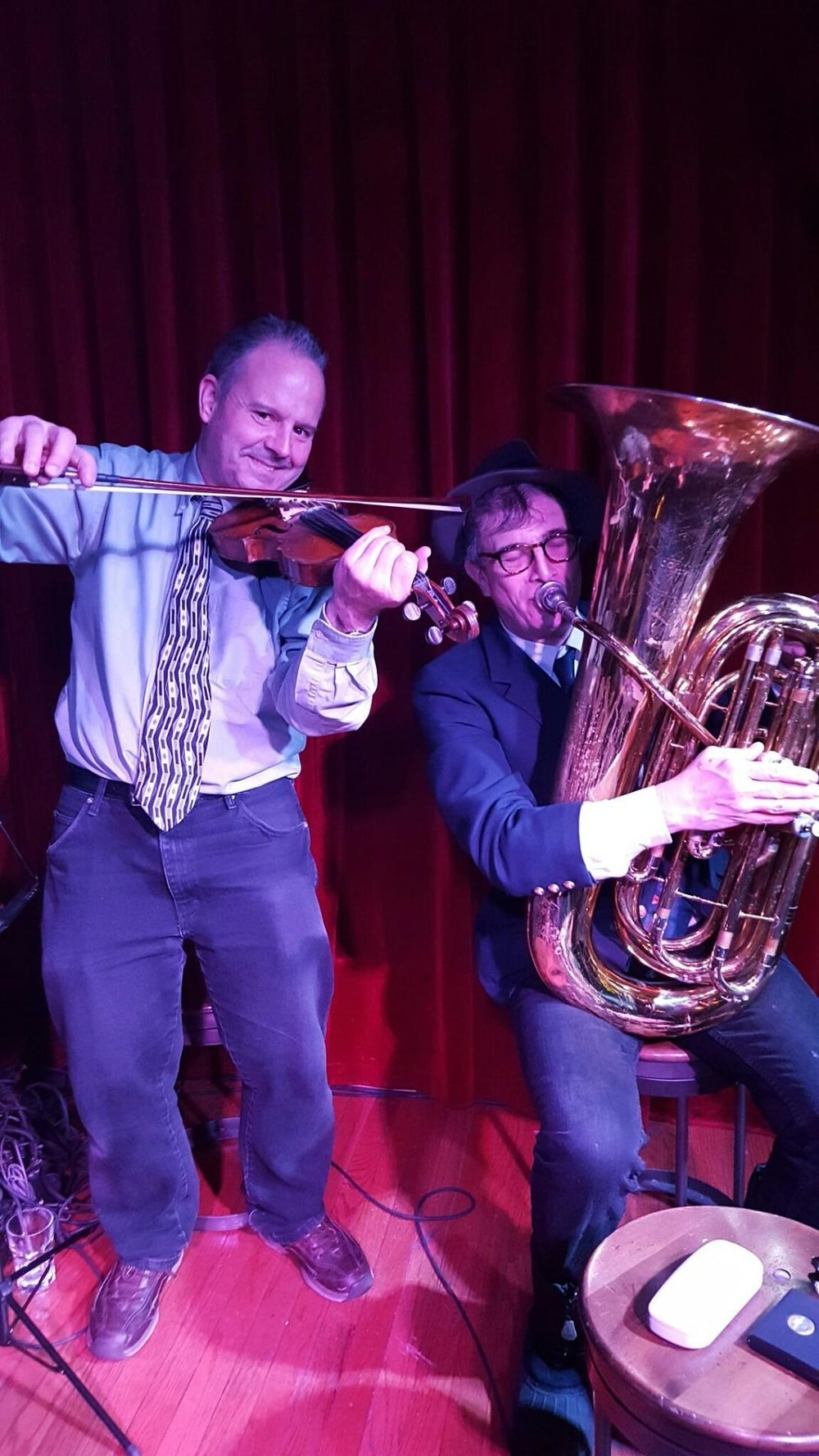 Scratchy and Ostie (Dave Ostwald) at Red Room, 2/9/17