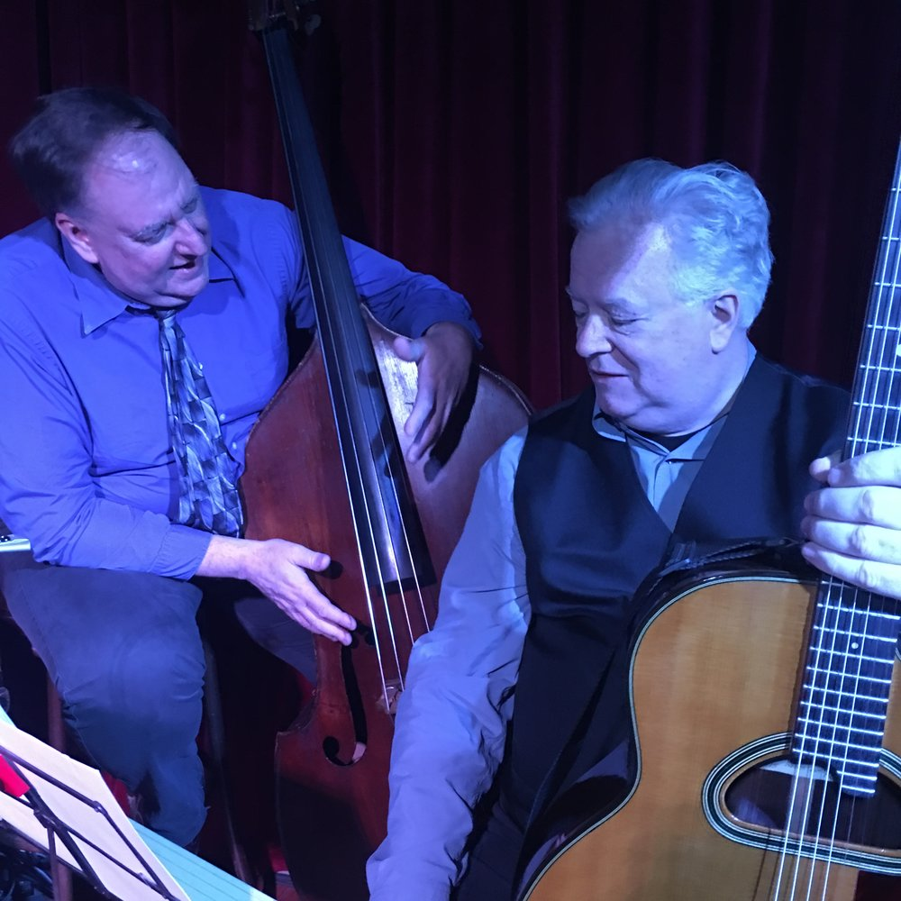 Brian Nalepka and John Gill at Red Room, May, 2017  Photo: J.Bianchi