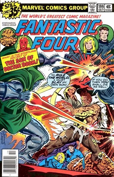 Keith Pollard, comic book artist, Fantastic Four cover art.
