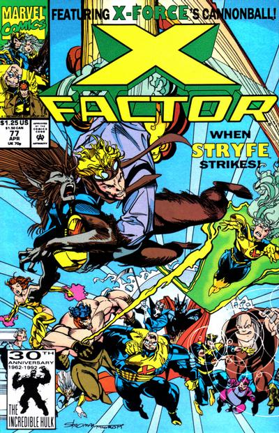 X-Factor comic artist Larry Stroman