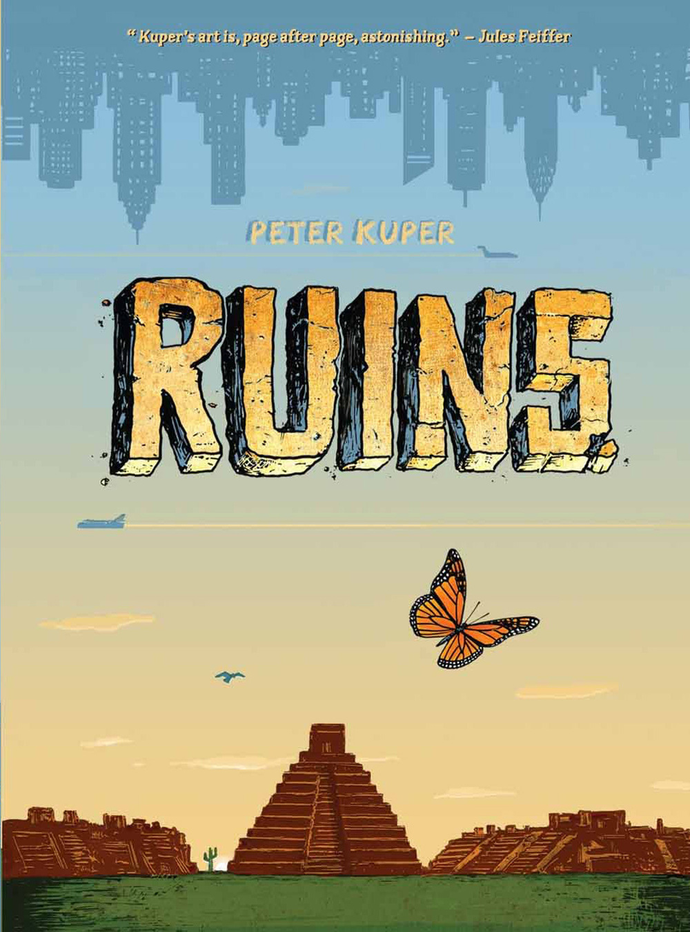 Ruins by Peter Kuper
