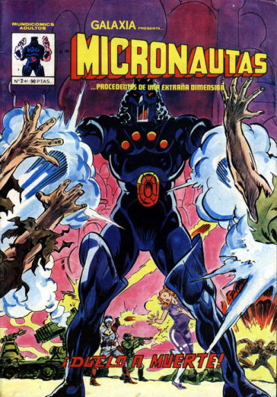 Michael Golden Micronauts