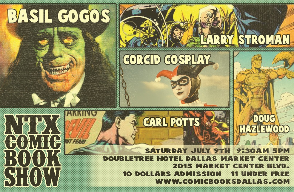 NorthTexasComicBookShowJuly9th