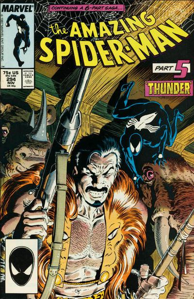 Kraven's Last Hunt Mike Zeck cover