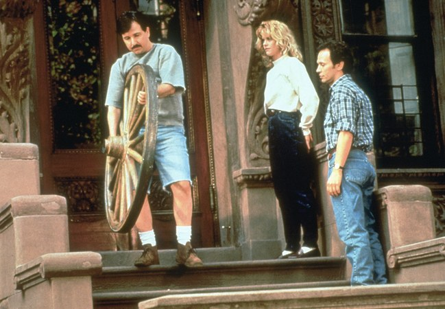 """Rom-Coms Inspired by My Anxiety About Moving Apartments - """"When Harry Met Sally but Then Met Ben, Their Third Roommate"""" and more."""