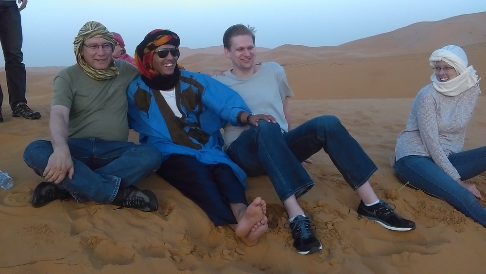 Hiking Tour in Sahara Desert