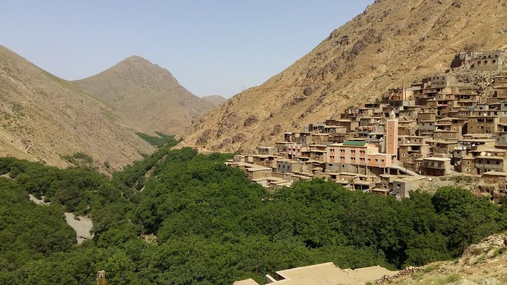 Berber Villages, Toubkal Mountain