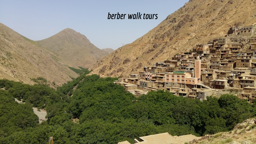 Berber Villages Short Hike, Morocco