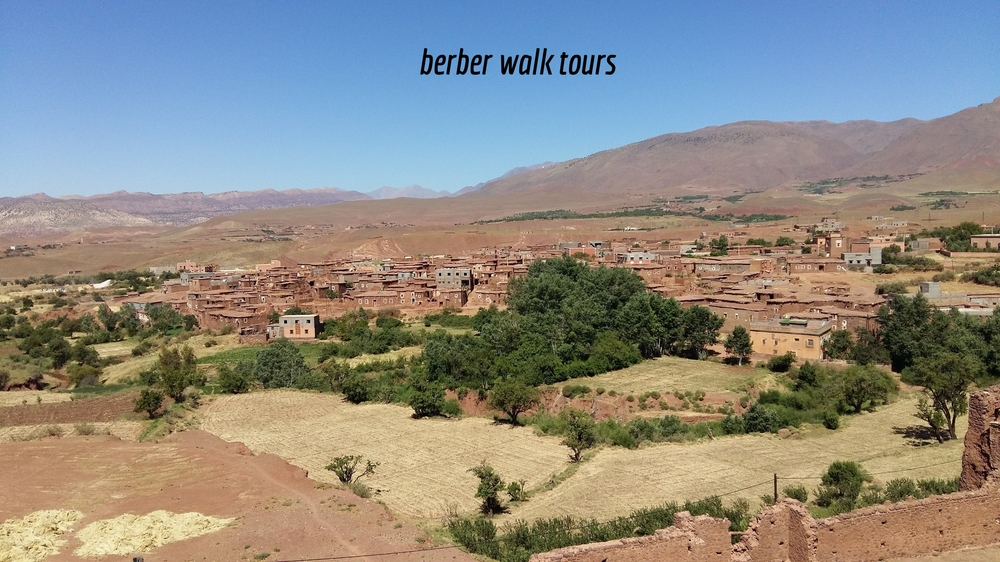 Hiking through Berber Villages in Atlas Mountains