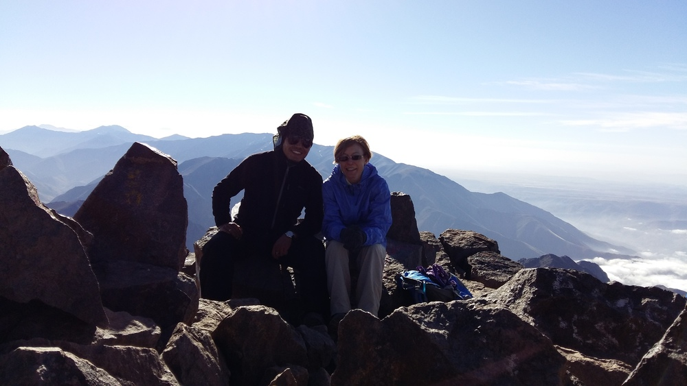 Hiking Toubkal