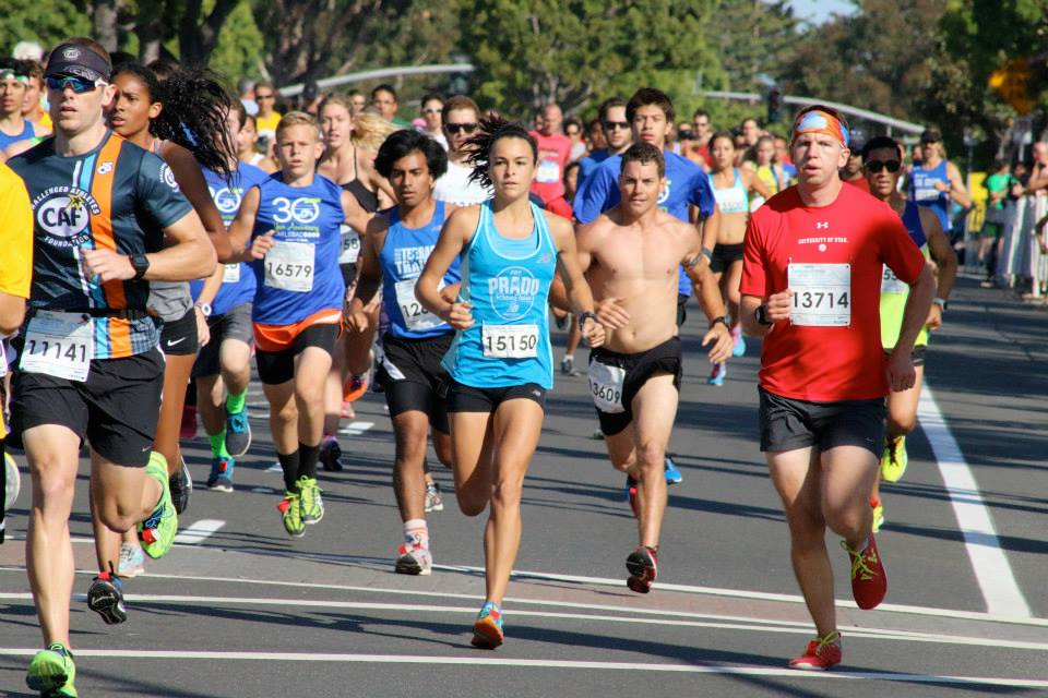 Marie Schaper cruised to a podium finish at the Carlsbad 5000