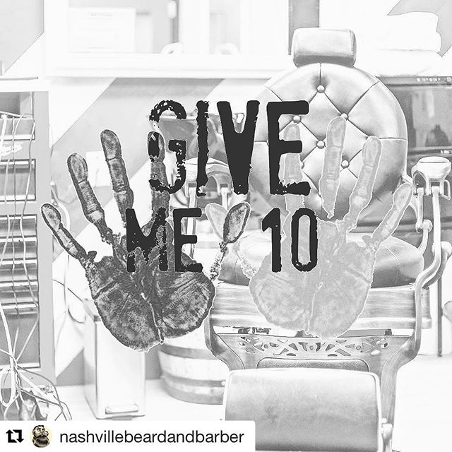 Want to help feed East Nashville kids over their holiday break this year? Our new friends at @nashvillebeardandbarber are collecting non perishable food until the end of next week! Stop in and drop off your donation Monday- Friday 10-6 and Saturday 9-3! #Repost @nashvillebeardandbarber with @repostapp ・・・ Give Me 10- a community led movement to address the issue of hunger among children in east Nashville. Founded in 2013 in response to students, who depend on school meals, facing hunger during school breaks. Supported by the community and local schools, Give Me 10 has met food, clothing and other daily needs of over 300 East Nashville families. We have a donation box set up at the shop, if you're so inclined please bring non-perishable food items with you to your next appointment and help us help those in need. @giveme10eastnashville #fighthunger #community #giveback