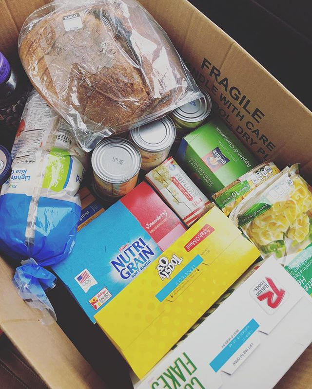 Have we mentioned how much we love our friends at Riverwood Church of Christ? Well, we do! Not only do they let us use their space to house a food pantry, but they also keep it stocked! It never runs out! When a family or student needs something they let us pop in and grab what they need! So thankful for committed neighbors! #getinwhereyoufitin #loveyourneighbor