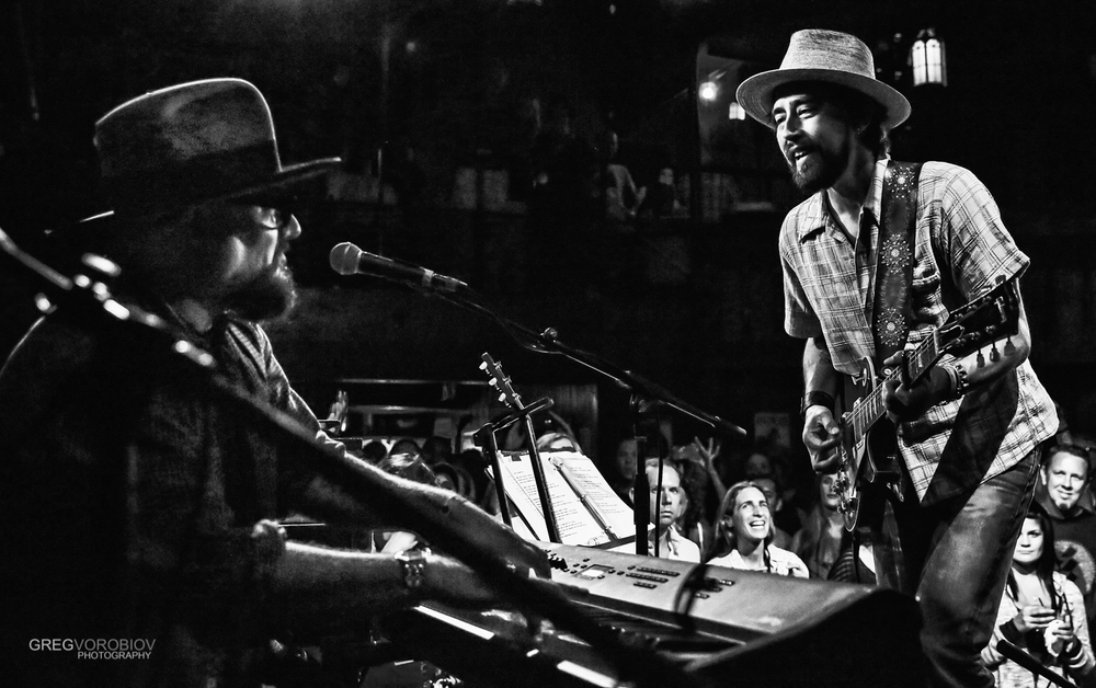 Jimmy Vivino and Jackie Greene at The Troubadour