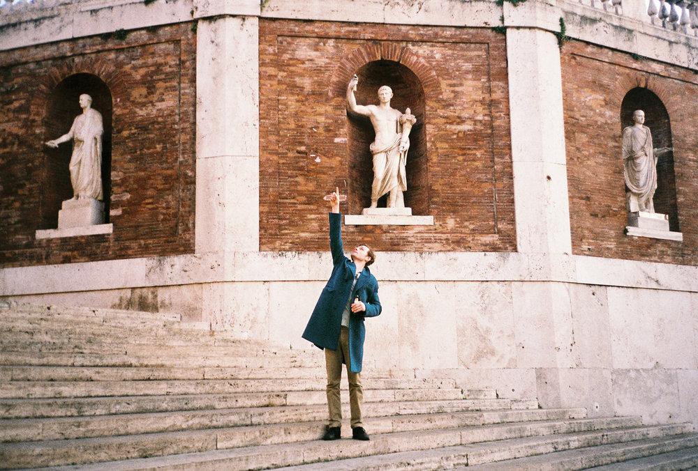 Seamus, Rome, Italy, 2016.