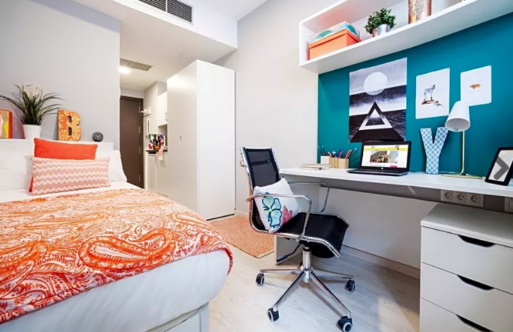 Inside a Study Abroad Apartment