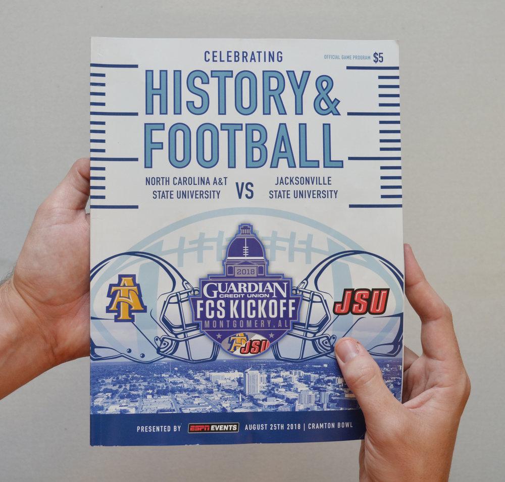Kickoff Classic | Program Cover Design