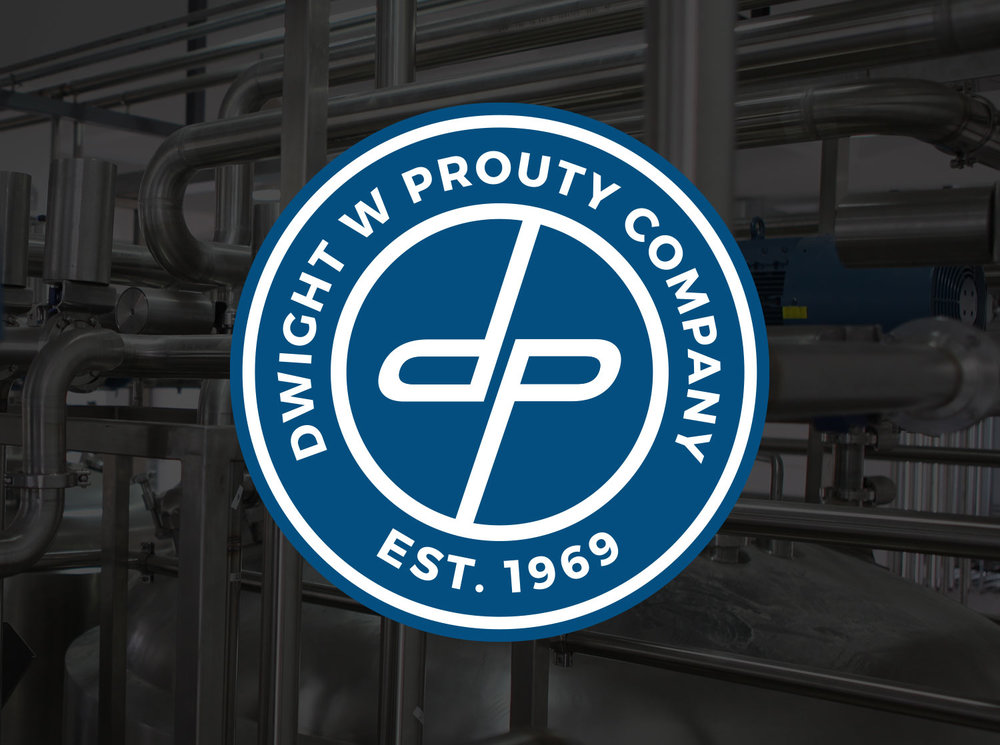 Logo Designed to Celebrate Dwight W. Prouty Company's 50th Year of Business