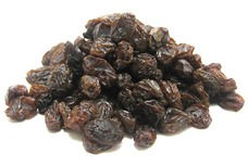 Raisins Black: $0.88 / 100g