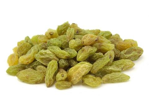 Green Raisins: 4.99/lb